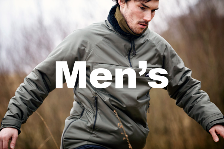 Mens outdoor adventure clothing